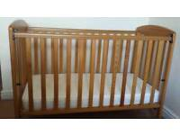 Mamas and Papas Cot (was 130£ new) - mattress available - can deliver
