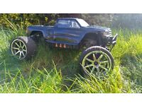 HPI SAVAGE FLUX XL FULL PACKAGE RC MAMBA MONSTER 6S TRUCK