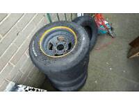 """Classic Mini 10"""" SlotMags* with Yoko A032R tyres"""