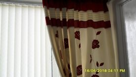 curtains and shade 90 x 88w inch