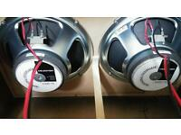Pair of Celestion G12T-75 speakers