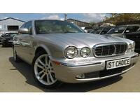 JAGUAR XJ V8 SE VERY LOW MILEAGE FSH (silver) 2003