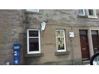 2 bedroom, furnished, ground floor flat, own front door, town centre