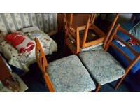 Chairs x4 in good condition