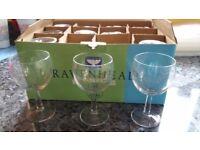 12 wineglasses in box brand new