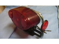 KAWASAKI TRIPPLE REAR LIGHT UNIT H1 H2 ETC VGC ORIGINAL