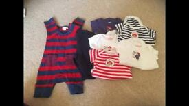 Newborn to 6 months boys clothes