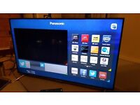 """PANASONIC 55"""" Smart 4K ULTRA HD 3D TV,built in Wifi,Freeview HD,NETFLIX,Excellent condition"""
