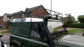 Landrover roof rack