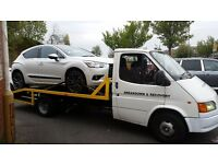 24 Car recovery and car delivery motorcycle recovery