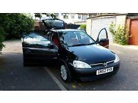 2002 Vauxhall Corsa 1.0 i 12v Life 5dr Cheap Insurance Road Tax @07445775115