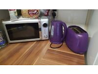 Kettle and toaster looking for a lovely home