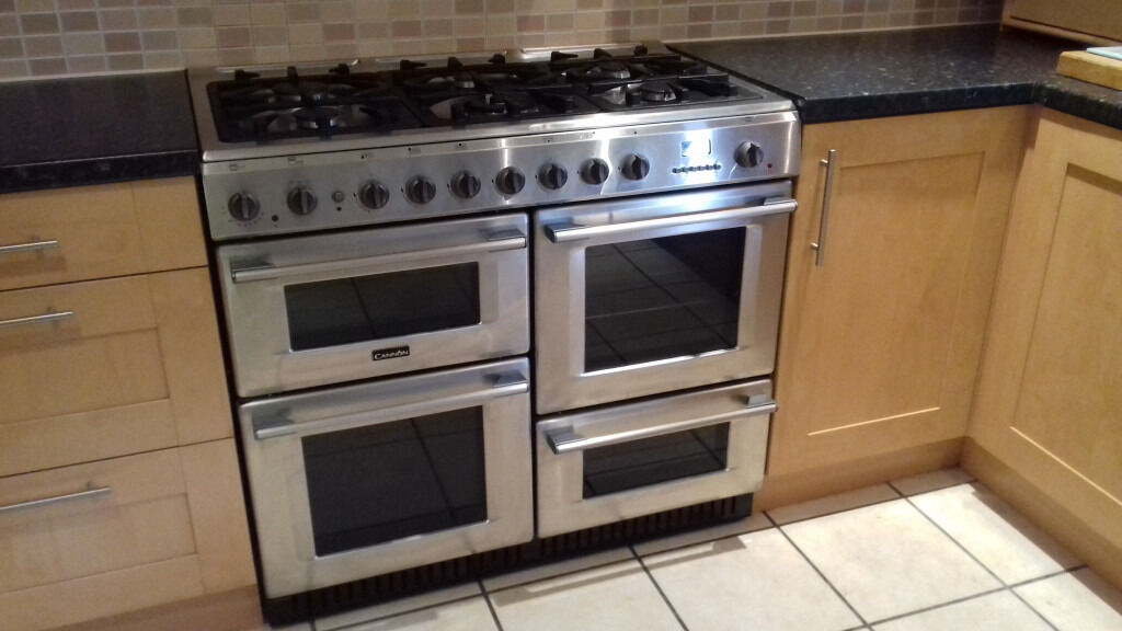 Cannon Professional 1000 Dual Fuel Range Cooker In West