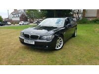 For sale BMW 730 diesel automatic facelift 56 plate full V5 nice condition inside outside