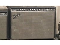 Fender 212 100 watt Amp 2 chanel with reverb and has a foot switch excellent condition sounds fab