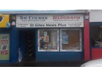 Newsagents & Grocers Shop for sale - ST GILES NEWSPLUS