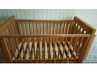 REDUCED Baby Cot Bed - Mamas Papas