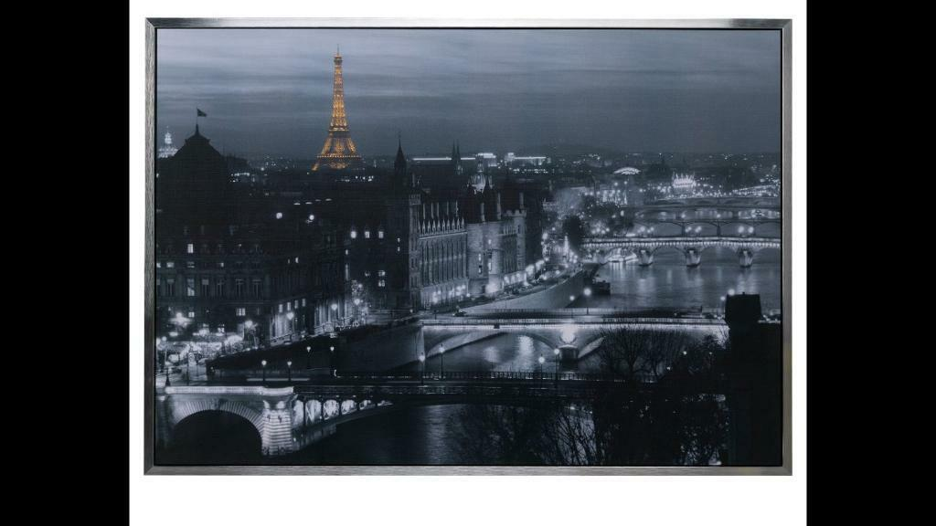 Large Paris canvas