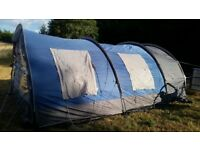 large 6 person family tent. khyam colorado 5000