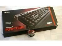 corsair k30 mechanical gaming keyboard