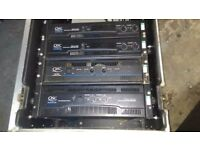 QSC Power amps