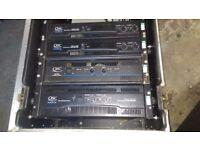 QSC Power amps