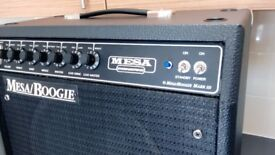 Mesa Boogie MK III 60 watt Combo. Blue Stripe Model + Custom Cover.