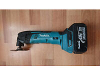 Makita Multitool 18v plus makita battery 18v 3.0