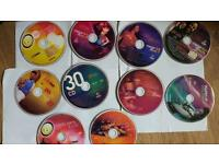 Zumba CD-s and DVD-s
