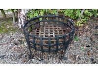 Fire Basket Wrought Iron