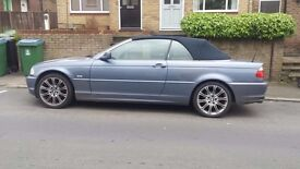 BMW 3 Series 2001 Covertible for sale