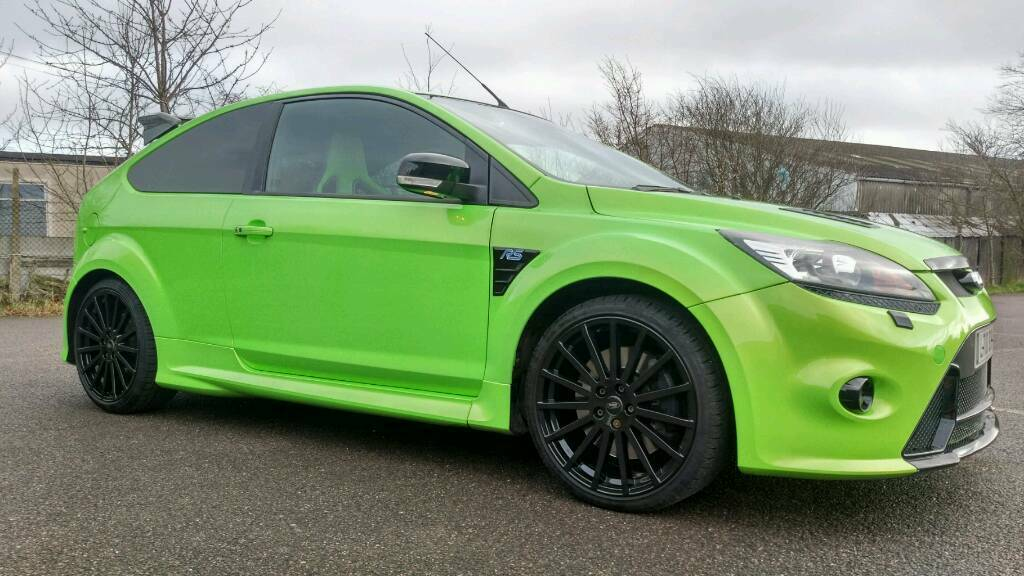 2010 ford focus rs ultimate green in leigh on sea essex gumtree. Black Bedroom Furniture Sets. Home Design Ideas