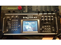 Roland V-Synth XT with VC-1, VC-2 and D-50 installed, in great condition