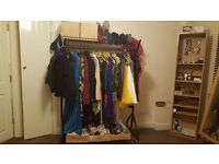 FLAT CLEARANCE - two industrial strength clothes rails - £10 each or £15 for both