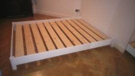 Low Platform Bed - King Size