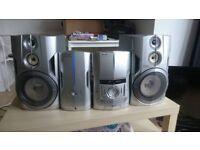 Pioneer Stereo 2 x 100 watt speakers (Bluetooth adapter included)