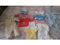 Baby boy clothing bundle 0-3 months 79 pieces in total, £40 ono