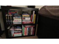 Black Quarter Section Bookcase
