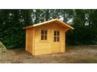 Nice log cabin