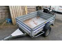 Galvanised steel trailer 5x4