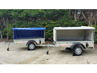 SINGLE AXLE BOX TRAILER/ MOBILITY SCOOTER TRAILER 6FT X 4FT - 750KG GVW