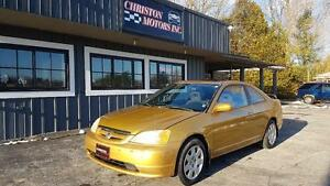 2001 Honda CIVIC SI CERTIFIED ETESTED ONLY $1999+taxes