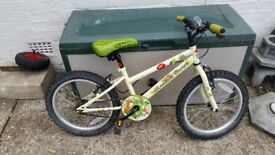 Apollo woodland charm single speed 18 inch wheel bike