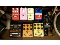 Effects pedal job lot