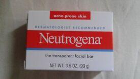 Brand New With the box Neutrogena Acne-prone skin bar soap