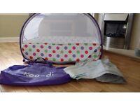 Koo-di pop up bubble travel cot