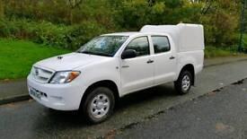 2008 58 Toyota Hilux 76,000 miles ex utilities