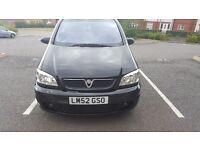 Vauxhall Zafira GSI - 2003(52 plate) 98k miles