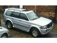 BARGAIN MITSUBISHI SHOGUN ELEGANCE V6 SPORTS 4X4 (SUV) LPG GAS, IMMACULATE CONDITION, MUST BE SEEN