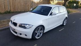 BMW 120d M Sport 5d Hatchback Manual Diesel Full Service History Alpin White